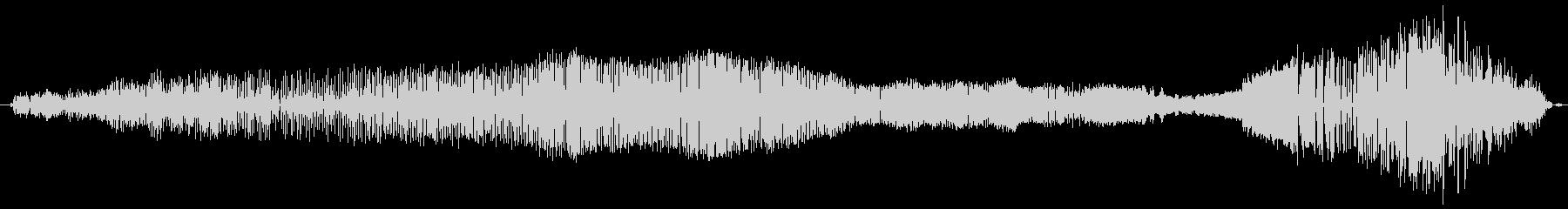 鳴き声 雄の吸うイサキ03の未再生の波形
