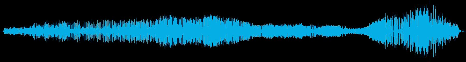 鳴き声 雄の吸うイサキ03の再生済みの波形