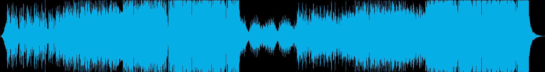 海外風 女性ボーカル付ピアノHOUSEの再生済みの波形