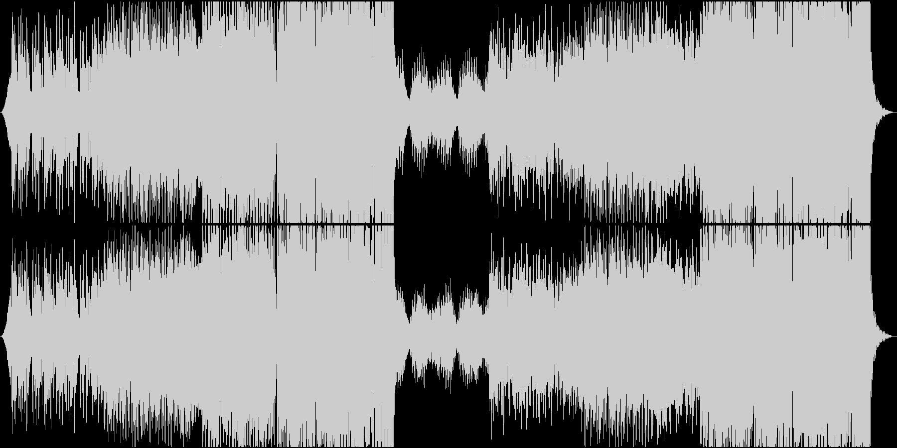 海外風 女性ボーカル付ピアノHOUSEの未再生の波形
