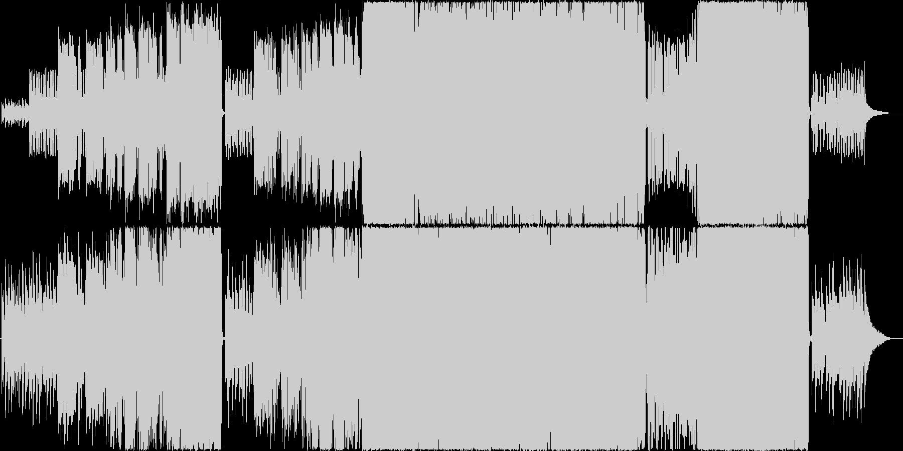 生演奏。後半からバンドインする切なポップの未再生の波形