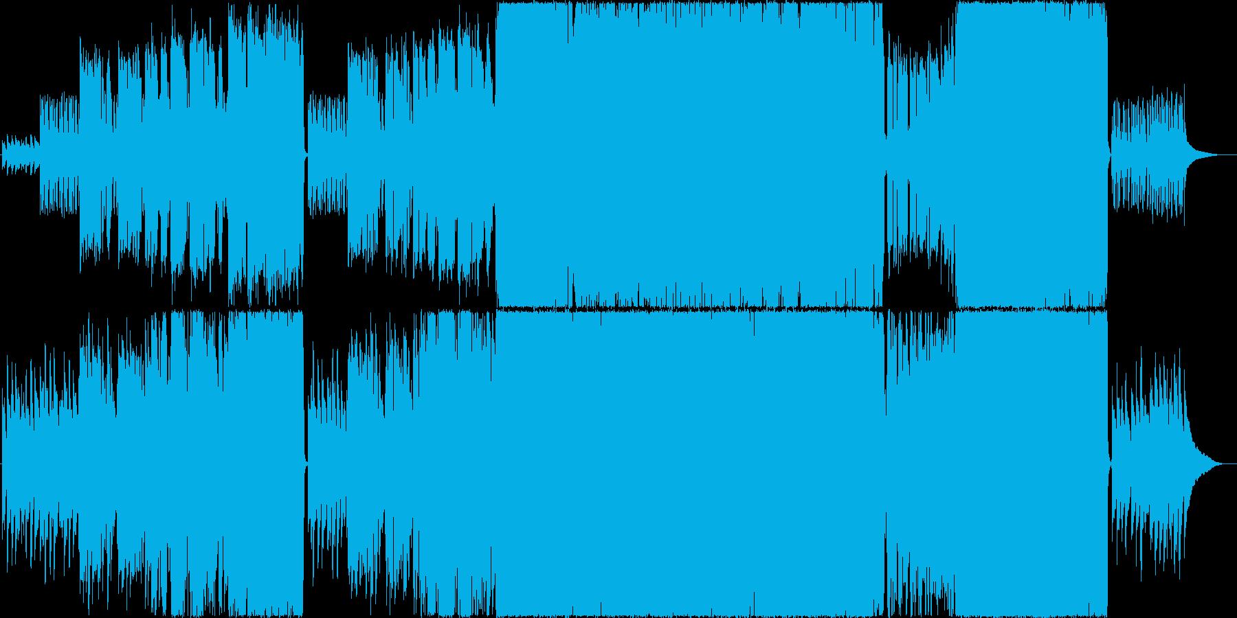 生演奏。後半からバンドインする切なポップの再生済みの波形