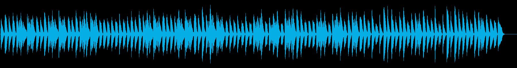 木琴とピアノのほのぼのした日常BGMの再生済みの波形