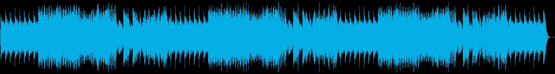 ワクワクするテンポのいいオルゴールの曲の再生済みの波形