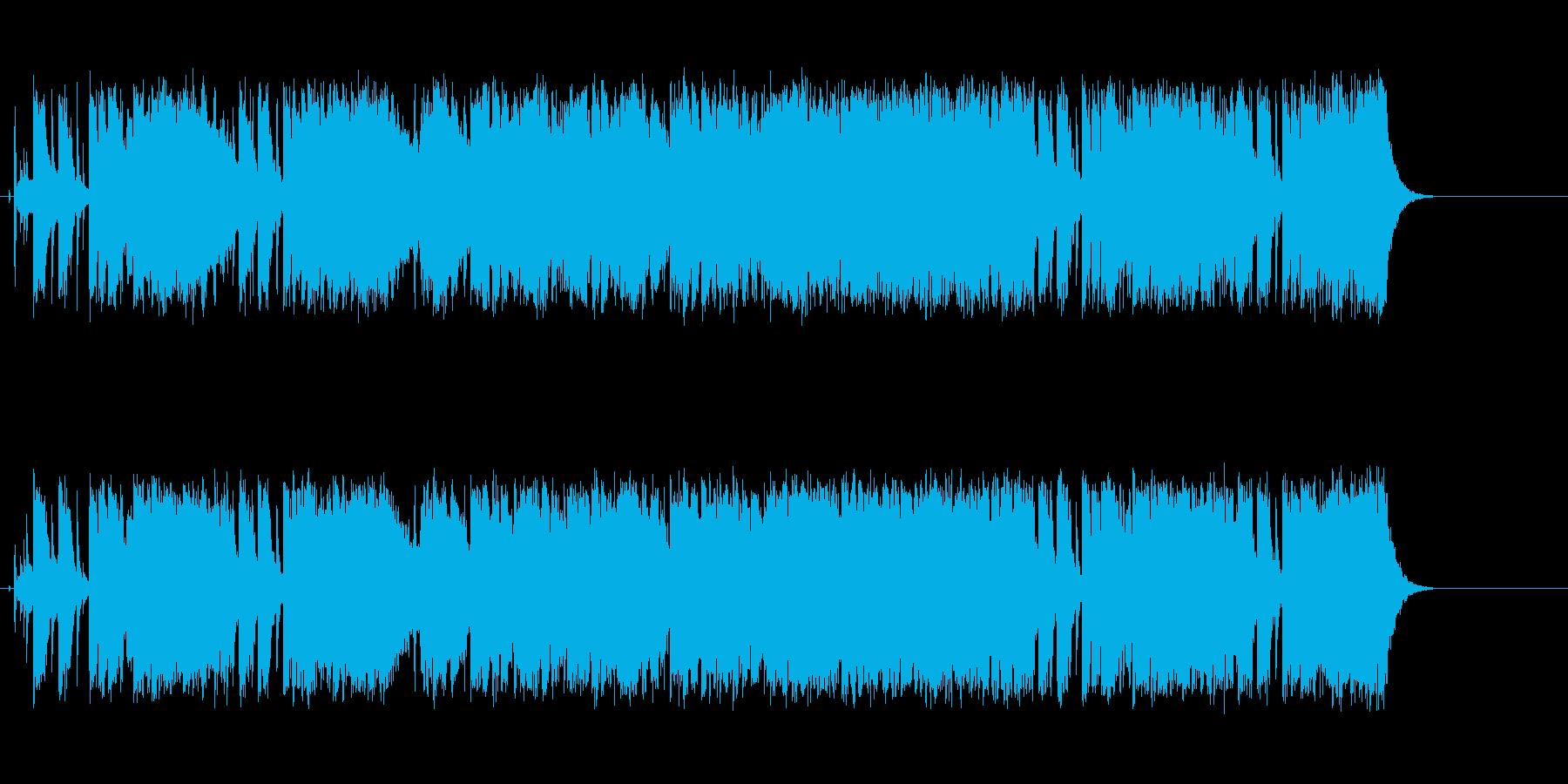 ピュアでストレートなポップスの再生済みの波形