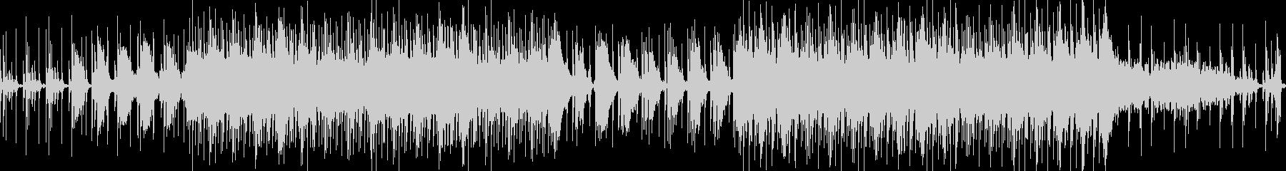 ◆ハウス音楽で落ち着いた雰囲気のBGMの未再生の波形