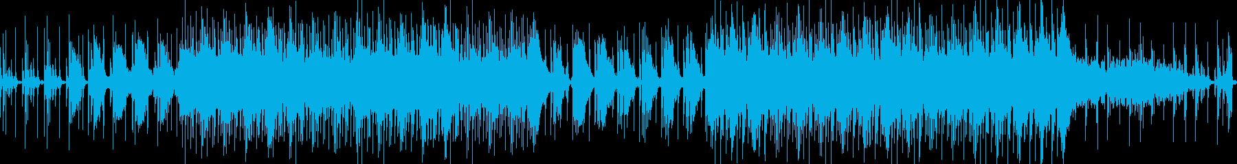 ◆ハウス音楽で落ち着いた雰囲気のBGMの再生済みの波形