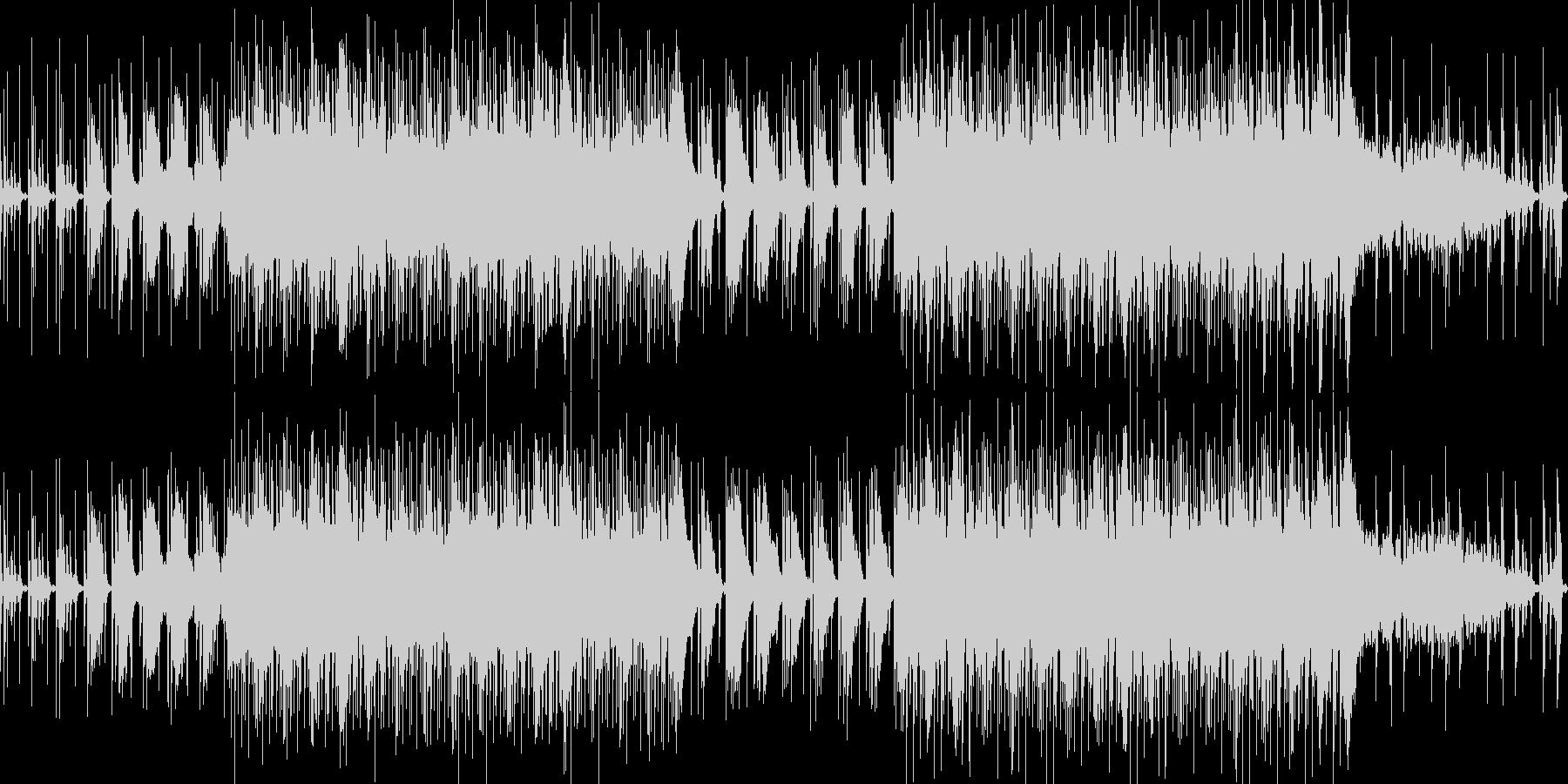 ハウス音楽で落ち着いた雰囲気のBGMの未再生の波形