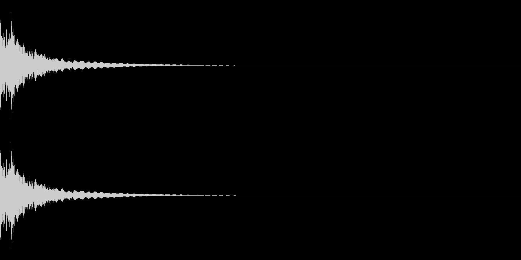 チリーン(チベタンベル/瞑想/閃く)の未再生の波形