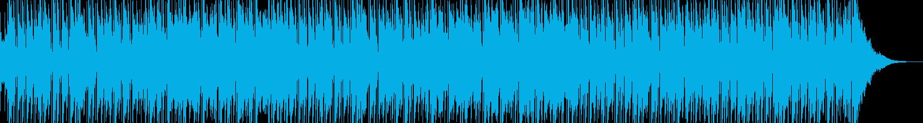 ほのぼのハワイアン。ウクレレやドブロの再生済みの波形