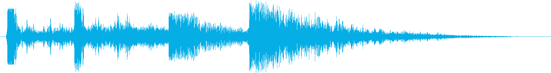 衝撃 エアストライク12の再生済みの波形