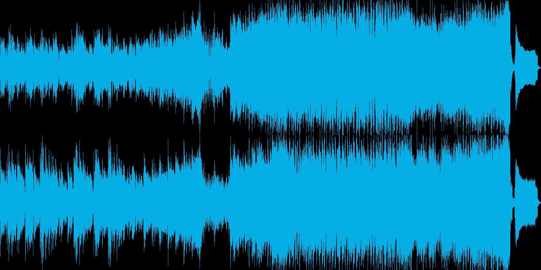 展開し融合する和楽器とアイルランド音楽の再生済みの波形