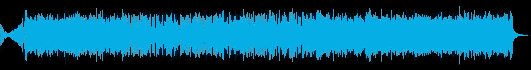 eスポーツハイライト用重いメタルの再生済みの波形