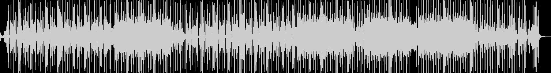 ビターエンドがテーマのスロウテクノ 長尺の未再生の波形