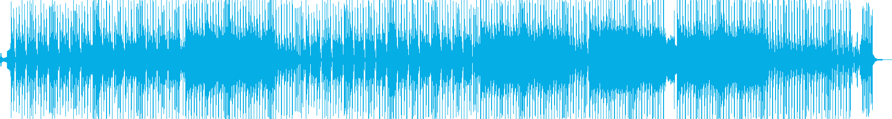 ビターエンドがテーマのスロウテクノ 長尺の再生済みの波形