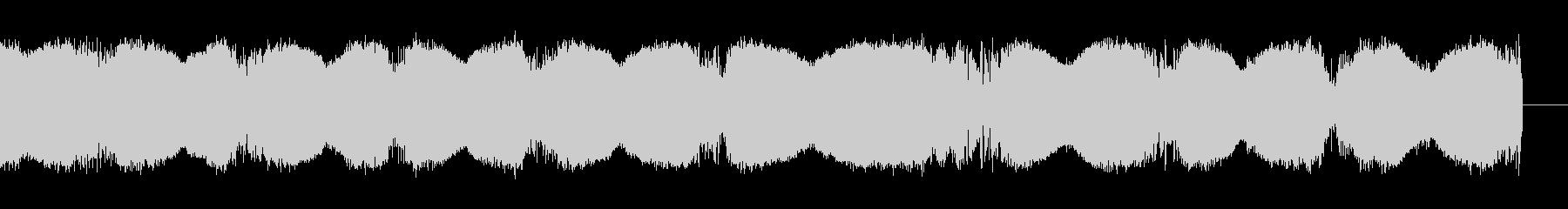 静的;サイクリングラスピートーンの...の未再生の波形
