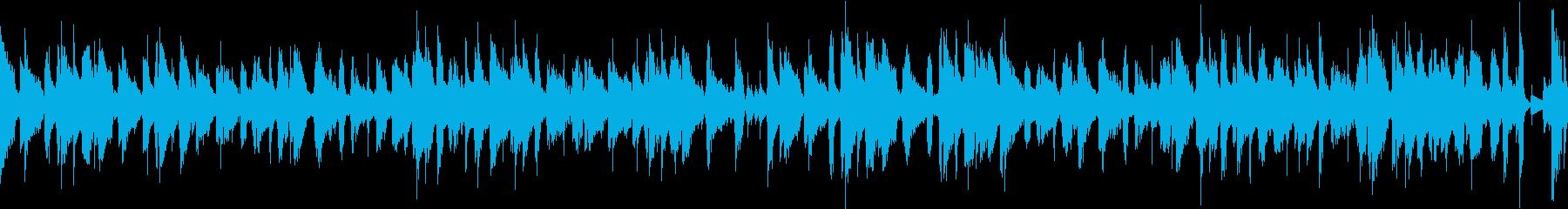 ウンチャカ / ほのぼのループBGMの再生済みの波形