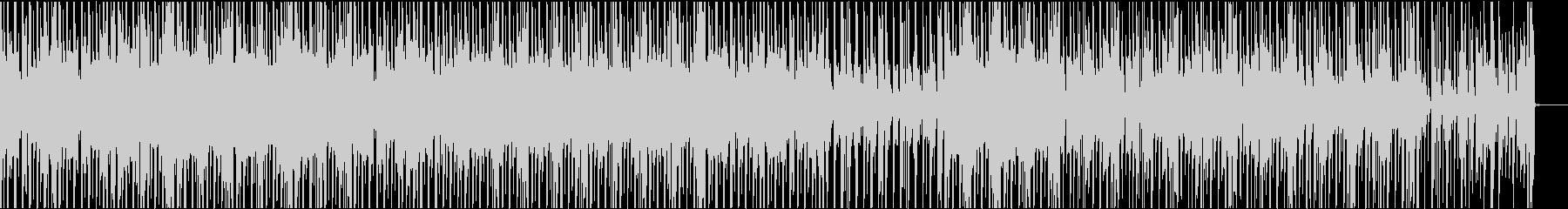 ハウス系ビートの未再生の波形
