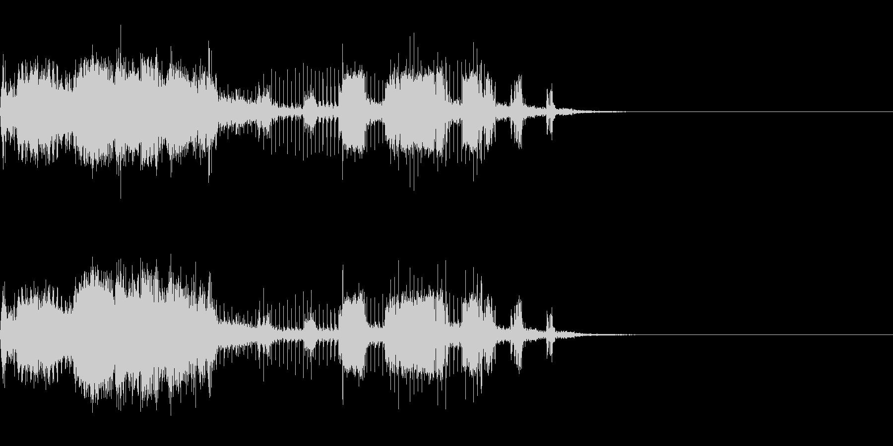 スパーク音-29の未再生の波形