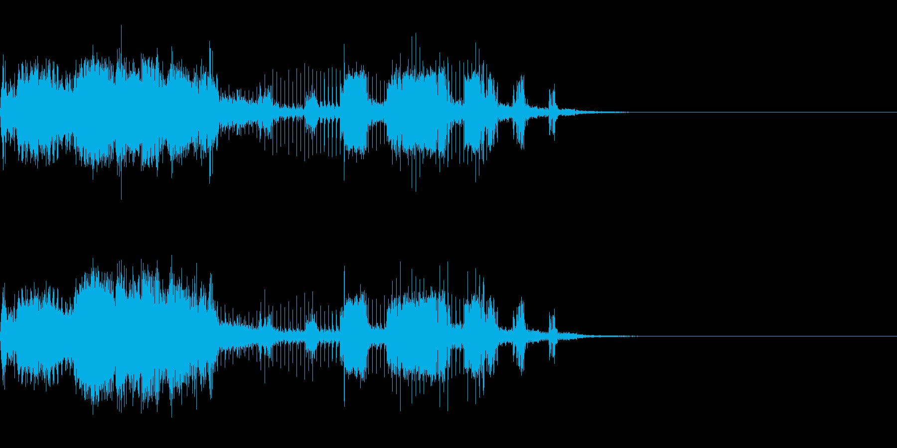 スパーク音-29の再生済みの波形