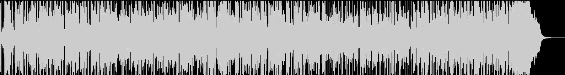 元気なアコギのポジティブな曲の未再生の波形