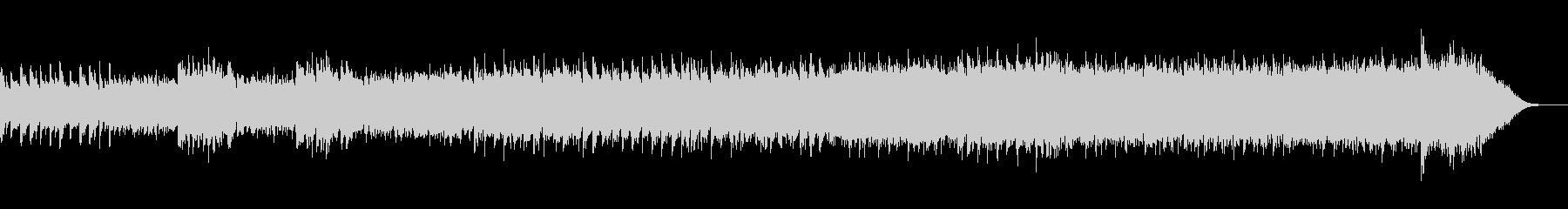 幻想的で哀愁のあるハープシコード入り曲の未再生の波形