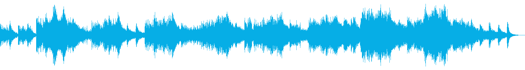 Superluminal Pianoの再生済みの波形
