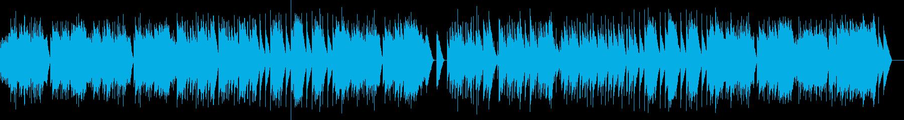 フォーレ 3.シシリエンヌ  オルゴールの再生済みの波形