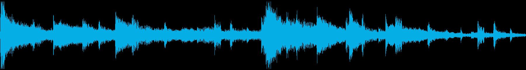 <ショートループ> ピアノ②+ビートCの再生済みの波形