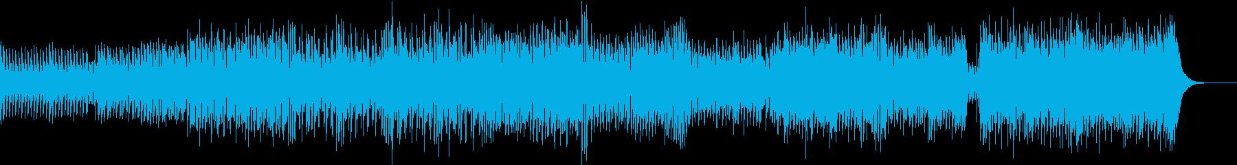 近未来的 カラフルな演出に最適なテクノの再生済みの波形