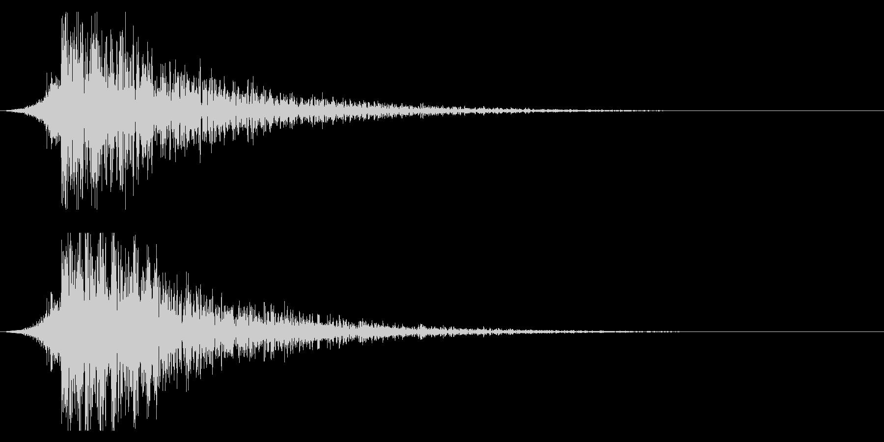 シュードーン-20-1(インパクト音)の未再生の波形