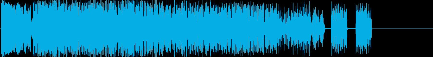 耳パンチの再生済みの波形