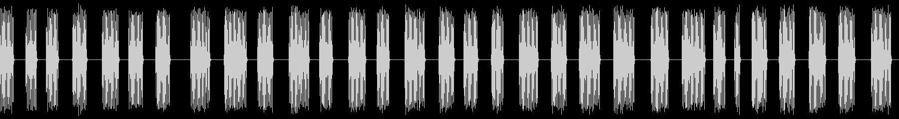 コオロギ 鳴き声 ギィギィギィ…(長い)の未再生の波形
