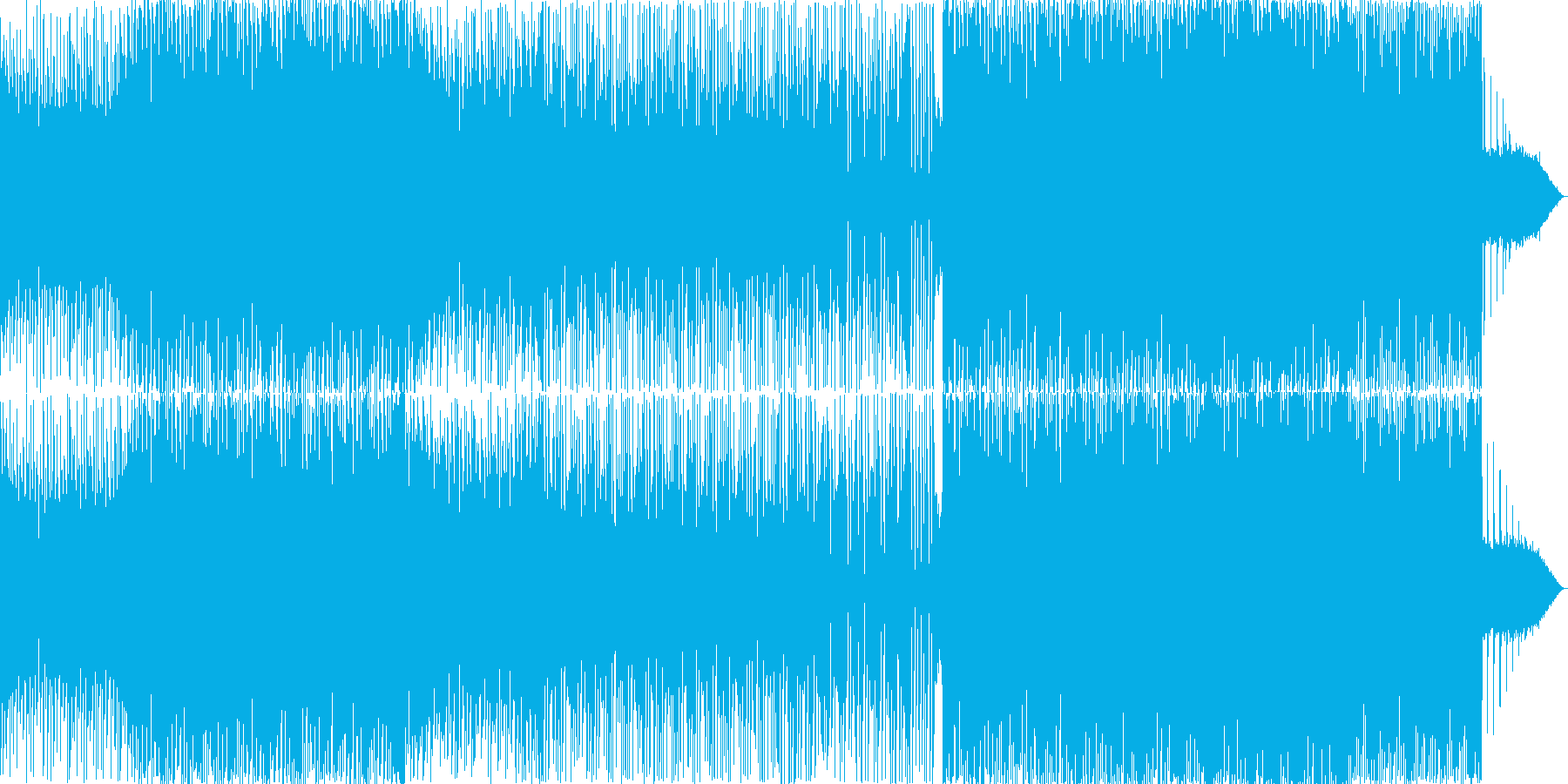 BGM_トランスの再生済みの波形