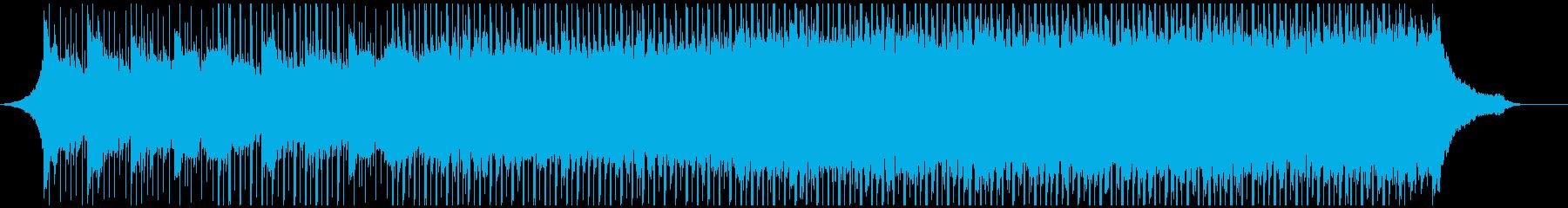 広告(中)の再生済みの波形