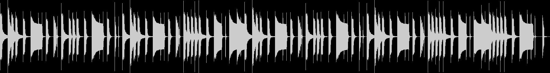 日常+いたずらっぽい雰囲気(ループ)の未再生の波形