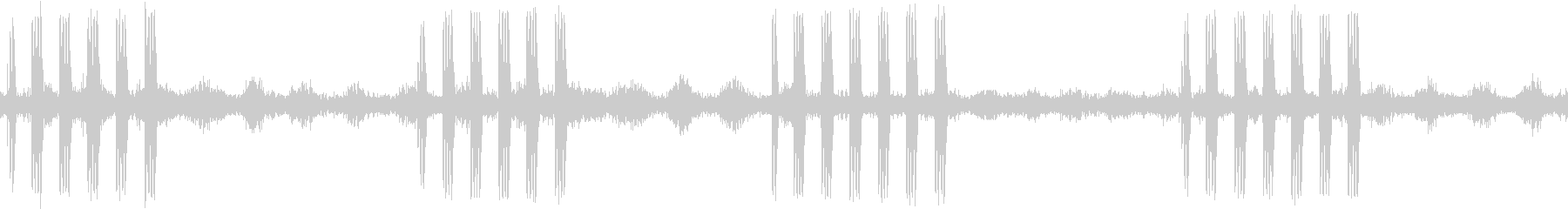 【生録音】ループで使える秋の虫の声 8の未再生の波形