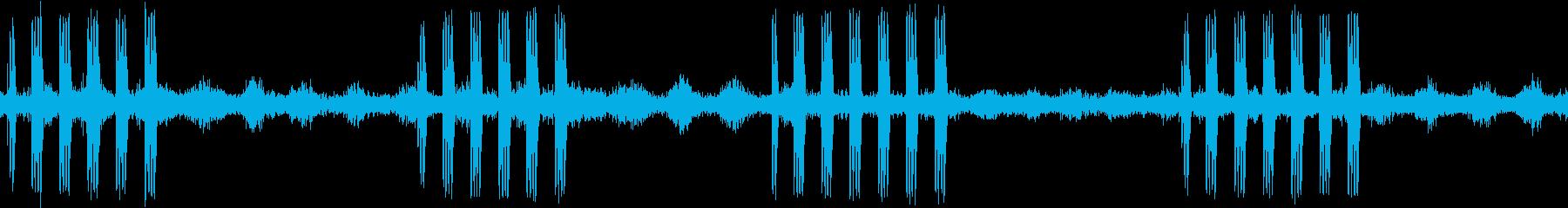 【生録音】ループで使える秋の虫の声 8の再生済みの波形