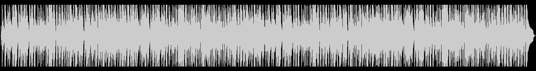 ラウンジで流れるお洒落なジャズピアノの未再生の波形