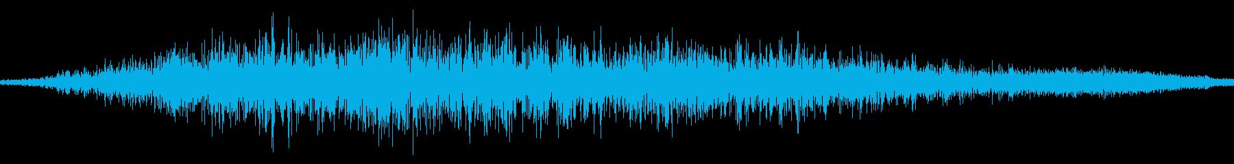 スワイプ音/閉じる/キャンセル音 11の再生済みの波形