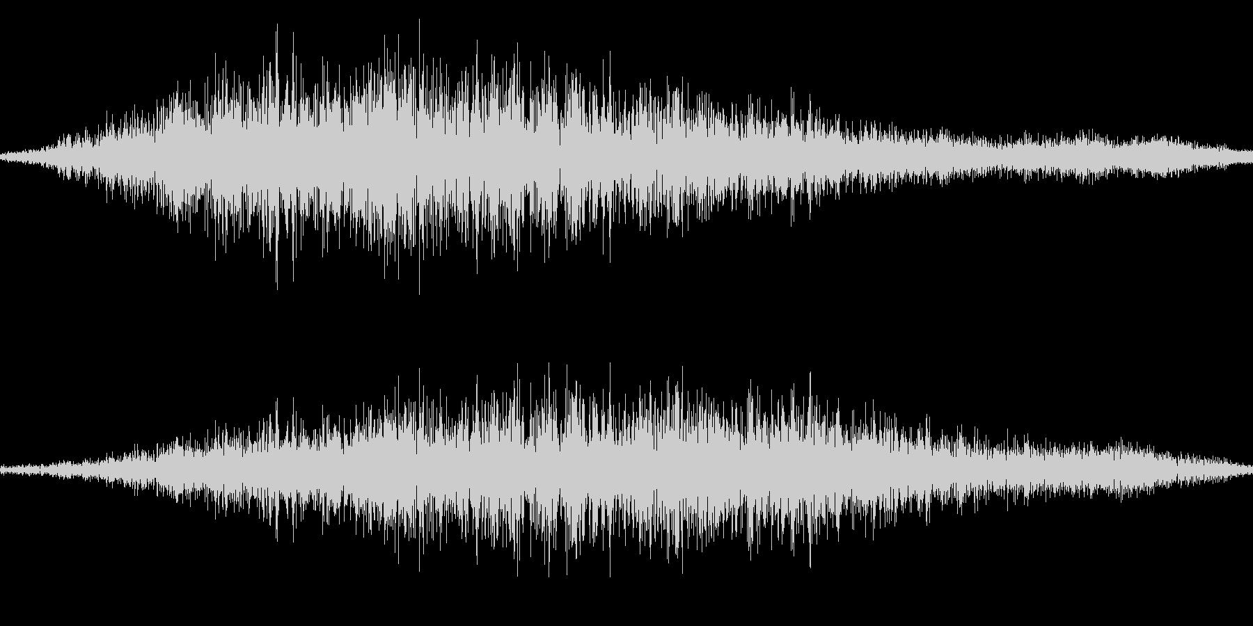 スワイプ音/閉じる/キャンセル音 11の未再生の波形