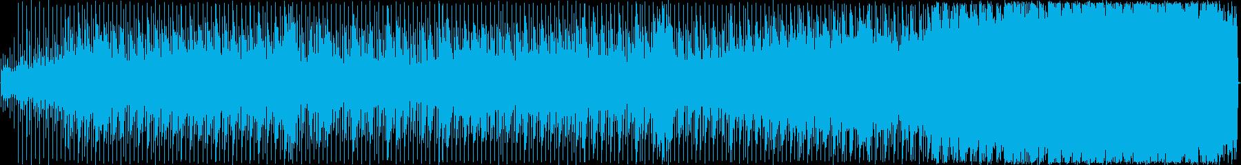 暗闇や恐怖を煽るダークサウンドの再生済みの波形