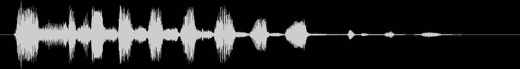 男性:ショート、ハードラフ、コメデ...の未再生の波形