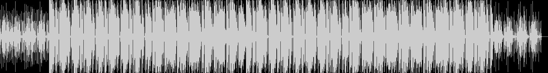 USのHiphopをイメージしたビートの未再生の波形