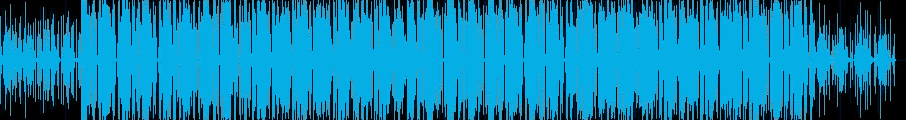 USのHiphopをイメージしたビートの再生済みの波形