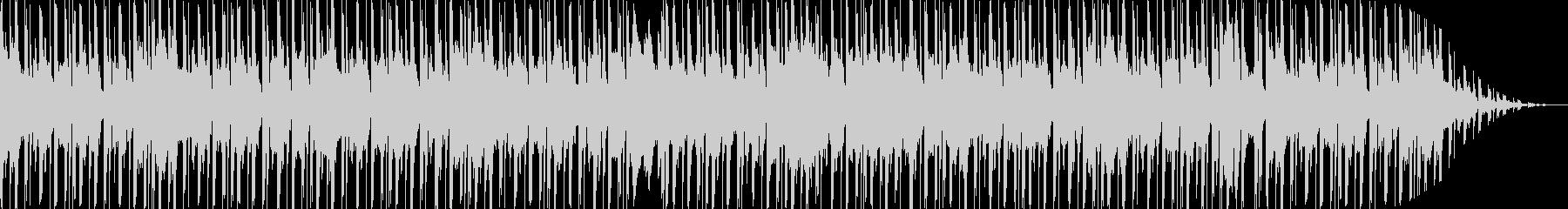可愛らしく優しいエレクトロBGMの未再生の波形