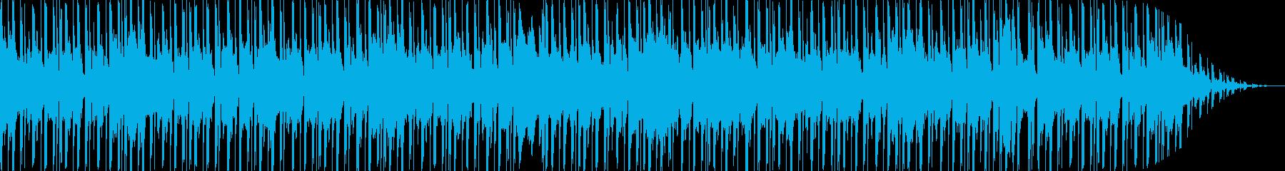 可愛らしく優しいエレクトロBGMの再生済みの波形