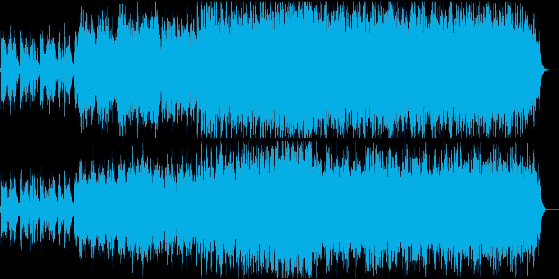 切なくも力強いピアノ曲の再生済みの波形
