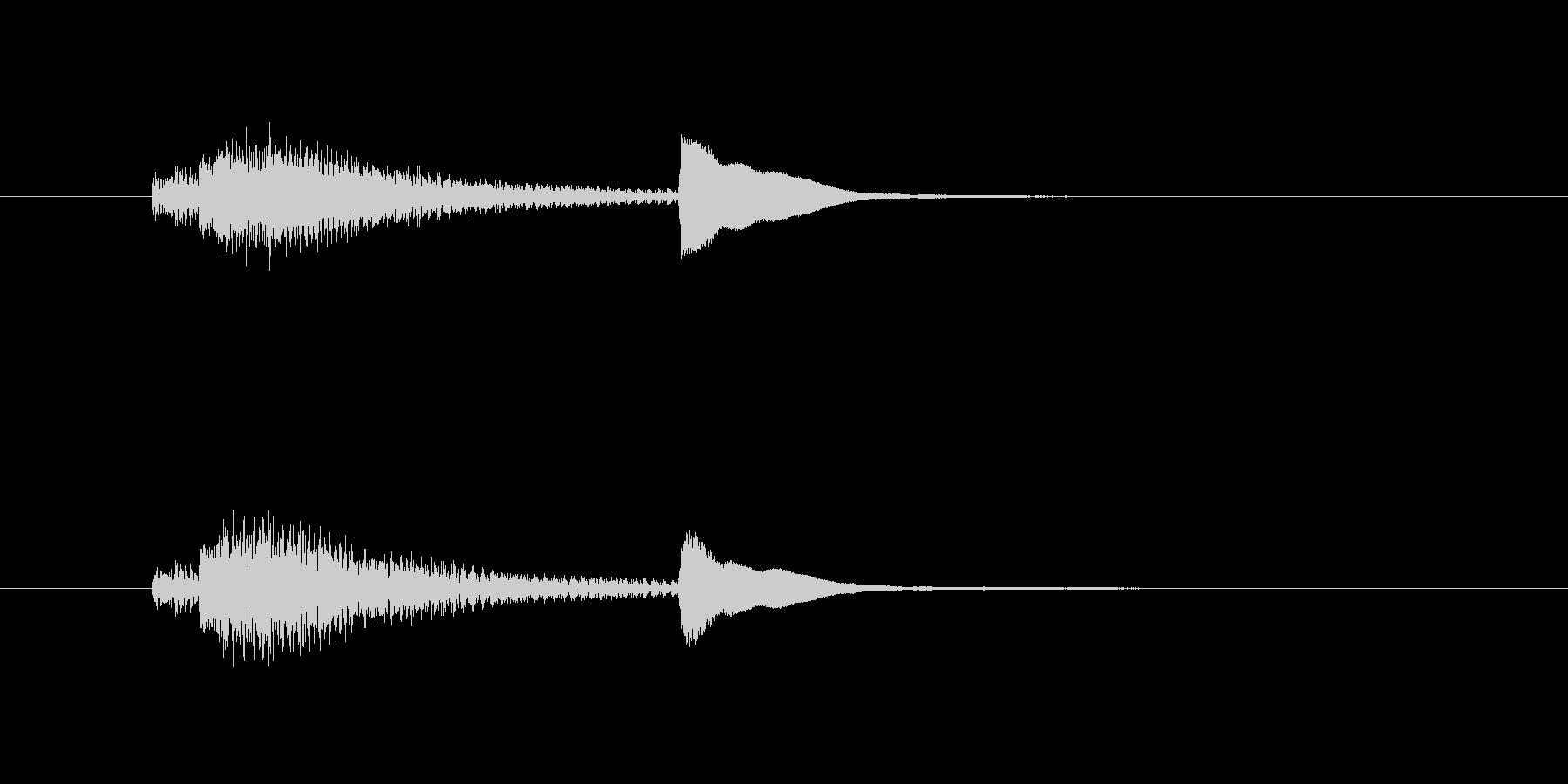 サウンドロゴ-3の未再生の波形