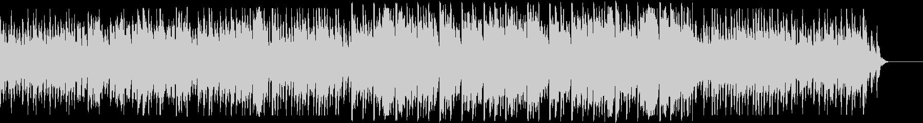 ハープの音色が美しいバラードの未再生の波形